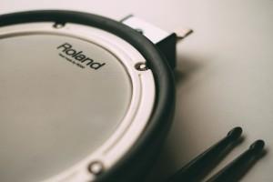 elektronisches Schlagzeug - Mesh-Head-Pad
