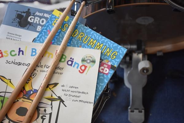 Schlagzeugbuch für Kinder